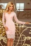 Dámské šaty Numoco 170-4 růžové