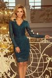 Dámské šaty Numoco 170-3 zelené