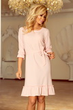 Dámské šaty Numoco 193-2 růžové