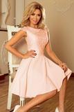 Dámské šaty Numoco 157-7 breskvové