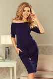 Dámské šaty Numoco 13-89 modré