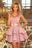 Dámské šaty Numoco 200-5 růžové