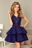 Dámské šaty Numoco 200-2 tmavě modré