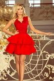 Dámské šaty Numoco 200-4 červené