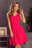 Dámské šaty Numoco 160-6 malinové