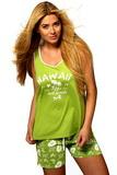 Dámské pyžamo Italian Fashion Malajka zelené
