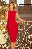 Dámské šaty Numoco 192-5 červené