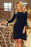 Dámské šaty Numoco 195-5 modré