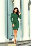 Dámské šaty Numoco 209-2 zelené