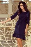 Dámské šaty Numoco 193-3 modré
