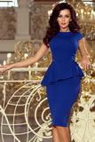 Dámské šaty Numoco 192-7 modré