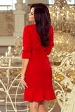 Dámské šaty Numoco 193-6 červené