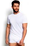 Pánské triko Esotiq 34324 bílé