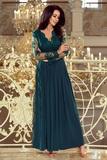 Dámské šaty Numoco 213-1 zelené