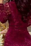Dámské šaty Numoco 170-5 vínové