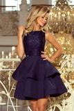 Dámské šaty Numoco 205-3 modré