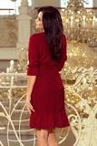 Dámské šaty Numoco 193-7 vínové