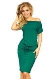 Dámské šaty Numoco 56-5 zelené