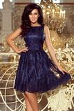 Dámské šaty Numoco 173-3 modré