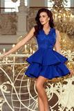 Dámské šaty Numoco 200-7 modré
