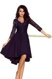 Dámské šaty Numoco 210-2 tmavě modré