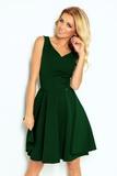 Dámské šaty Numoco 114-10 zelené