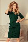 Dámské šaty Numoco 161-12 zelené