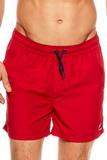 Pánské plavkové šortky Esotiq 36841 King červené