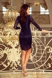 Dámské šaty Numoco 170-7 modré