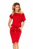 Dámské šaty Numoco 139-4 červené