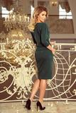 Dámské šaty Numoco 13-99 zelené