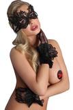 Erotické rukavice LivCo Corsetti 12 černé