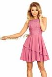Dámské šaty Numoco 236-1 růžové