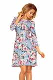 Dámské šaty Numoco 195-9 květované