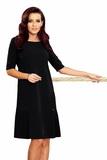 Dámské šaty Numoco 253-1 černé
