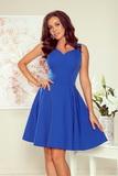 Dámské šaty Numoco 114-12 modré