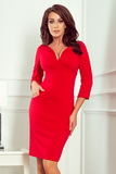 Dámské šaty Numoco 269-1 červené