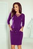 Dámské šaty Numoco 230-4 fialové