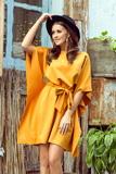 Dámské šaty Numoco 287-1 Sofia medové
