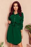 Dámské šaty Numoco 258-2 Brooke zelené