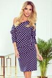 Dámské šaty Numoco 189-9 modré