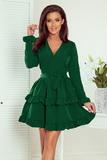 Dámské šaty Numoco 297-1 Caroline zelené
