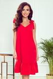 Dámské šaty Numoco 306-1 Rosita červené
