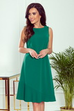 Dámské šaty Numoco 308-1 Karine zelené