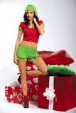 Dámský kostým Obsessive Elf
