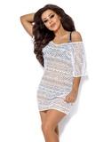 Plážové šaty Ava SP12 bílé