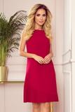 Dámské šaty Numoco 308-2 Karine červené