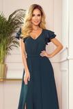Dámské šaty Numoco 310-1 Lidia zelené
