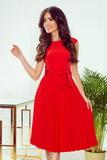 Dámské šaty Numoco 311-1 Lila červené