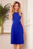 Dámské šaty Numoco 311-2 Lila modré